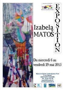 affiche expo iZABELA
