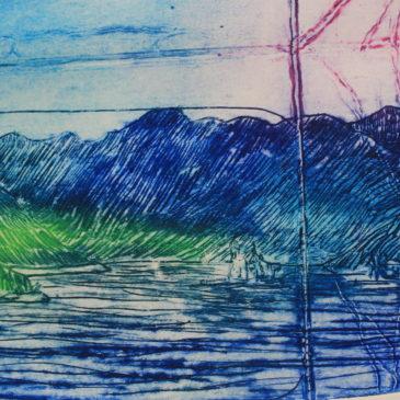 Na pučini plavog mora valjao se val